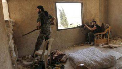 صورة مقتل نحو 50 عنصراً من قوات الأسد خلال محاولتهم التقدم بريف حلب الجنوبي