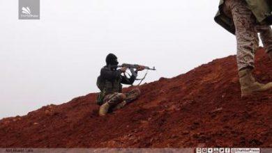 صورة مقتل عشرين عنصراً من الميليشيات جنوب حلب بينهم ضابطان