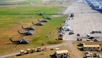 صورة أنباء عن تجهيز القوات الأمريكية قاعدة عسكرية سرية شمال شرق سوريا