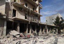 صورة ثمانية شهداء في قصف جوي على ريف حلب.. وتواصل الاشتباكات بالشمال