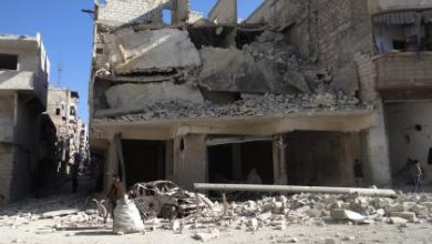 صورة الطيران الروسي يواصل ارتكاب المجازر بالتزامن مع معارك شمال حلب