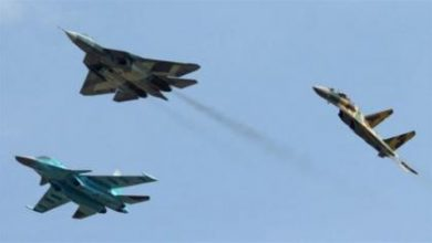 صورة معارك عنيفة شمال عندان والطيران الروسي يقصف المنطقة بعشرات الغارات