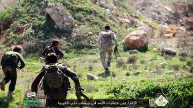صورة الثوار يشتبكون مع قوات الأسد غرب حلب وسوريا الديموقراطية في الشمال والروسي يكثف من قصفه