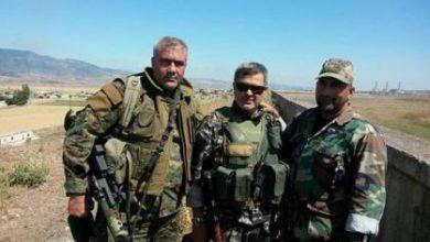 صورة مقتل عدد من عناصر حزب الله جنوب حلب بينهم قائد بارز