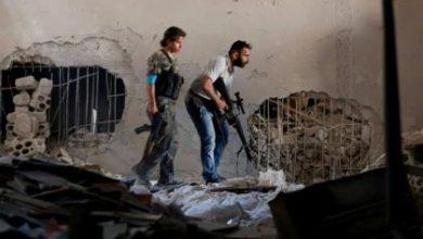 صورة اشتباكات متقطعة بين الثوار وداعش شمال حلب