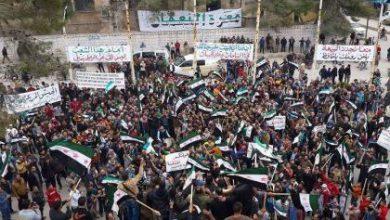 صورة في أول جمعة بالهدنة مظاهرات حاشدة تشهدها عدة مناطق في سوريا