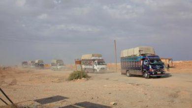 صورة داعش يشنّ هجوما على طريق خناصر.. والروسي يقتل أربعة مدنيين قرب دير حافر