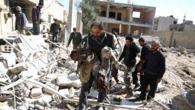 صورة طيران الأسد يقصف أبو ضهور بريف إدلب ويخلف مجزرة مروعة