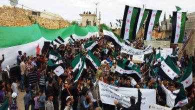 صورة تظاهرات الجمعة تعم عدة مناطق في سوريا باسم ''الأسد مصنع الإرهاب''