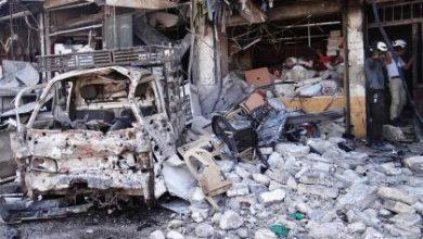 صورة أكثر من خمسين شهيداً ارتقوا أمس معظمهم في حلب