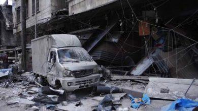 صورة أكثر من 115 شهيدا قضوا أمس 70 منهم حصة حلب