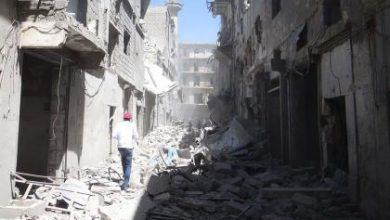 صورة مساعي عربية ودولية لإحالة مرتكب مجازر حلب للجنايات الدولية