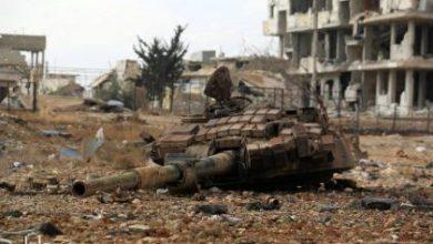 صورة مقتل 15 من قوات الأسد على أطراف داريا بريف دمشق