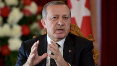صورة أردوغان يجدد عزم بلاده وقف عمليات القصف التي يشنها داعش على تركيا