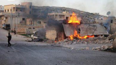 صورة أربعة شهداء وعشرات الجرحى في قصف جوي مكثف على ريف حلب
