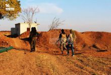 صورة بعد أن أحكم حصارها داعش يحاول اقتحام مارع