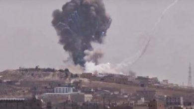 صورة الثوار يدمرون قواعد إطلاق الصواريخ في تلة الشيخ يوسف شمال حلب