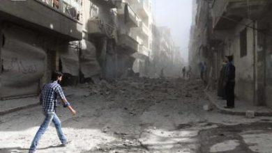 صورة أكثر من عشرين مجزرة ارتكبتها قوات الأسد وروسيا خلال الشهر الماضي