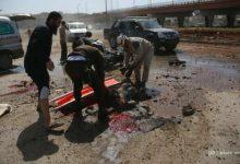 صورة ثمانية شهداء في قصف جوي على منطقة جسر الحج في حلب