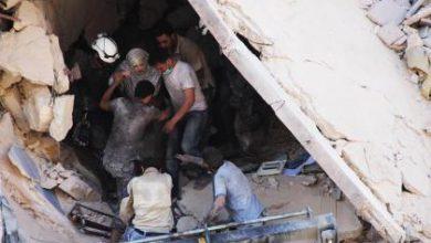 صورة معارك عنيفة في قلب المدينة حلب.. والطيران الروسي يرتكب مجازر مروعة