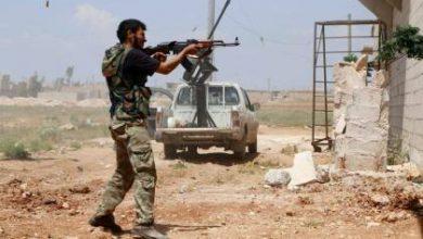 صورة معارك متواصلة في بني زيد والخالدية بين الثوار وقوات الأسد