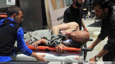 صورة قرابة الخمسين شهيداً في حلب وإدلب جراء القصف الجوي المتواصل