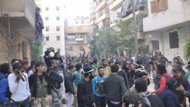 صورة الثوار يفتحون جبهات جديدة غرب حلب ويتقدمون أكثر في محيط الكليات الثلاث