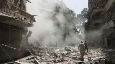 صورة الشبكة السورية لحقوق الإنسان تؤكد تفوق روسيا على داعش في قتل المدنيين