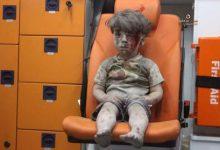 صورة شقيق عمران قضى متأثراً بجراحه في حلب المحررة والروسي يواصل مجازره