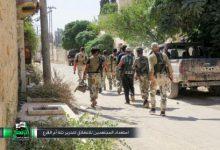 صورة معارك كر وفر بين الثوار وقوات الأسد جنوب الراموسة