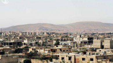 صورة اتفاق في داريا لإفراغ المدينة وفك حصارها