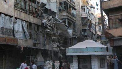 صورة مزيداً من الشهداء في حلب مع استمرار الحملة الوحشية الروسية