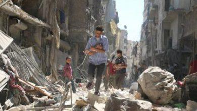 صورة عام على دخول روسيا الحرب إلى جانب الأسد ضد الشعب والثورة