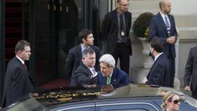 صورة اجتماع لوزان يبدأ لأجل سوريا