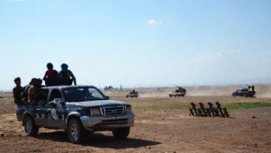 صورة معارك مستمرة بمحيط مارع ضد ميليشيا قوات سوريا الديموقراطية والأخير يكثف قصفه