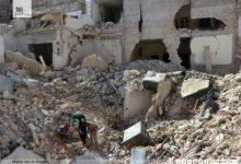 صورة قصف مدفعي يستهدف المخيمات في ادلب والثوار يتصدون للميليشيات جنوباً
