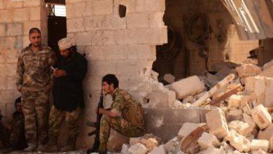 صورة مقتل العشرات من قوات الأسد والميليشيات بمعارك مع الثوار جنوب حلب