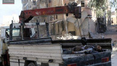 صورة المعهد السوري للعدالة يوثق سقوط أكثر من 2000 برميل وقنبلة على حلب خلال شهر