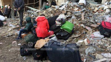 صورة المحاصرون بحلب بانتظار عودة العمل باتفاق الاجلاء