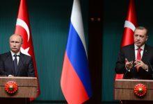 صورة مباحثات روسية تركية لوقف إطلاق النار في سوريا