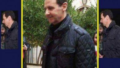 صورة جاكيت ارتداه بشار الأسد مرتين ليشعل قلوب مؤيديه