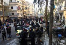 صورة أكثر من 44 ألف مدني تم تهجيرهم من حلب على يد مليشيات الأسد