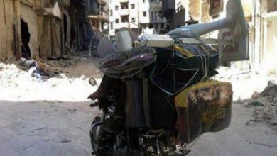 صورة قوات الأسد والمليشيات تعفش الأخضر واليابس في حلب
