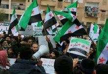 صورة مظاهرات جمعة الثورة تجمعنا تعم أرجاء المناطق السورية المحررة