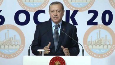 صورة أردوغان: نجري دراسة لمنح الجنسية التركية لجزء من اللاجئين العراقيين والسوريين