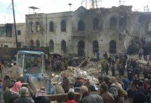 صورة مفخخة تضرب وسط اعزاز .. تقتل وتجرح 150 شخصا