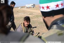 صورة عشرات القتلى لداعش قرب الباب