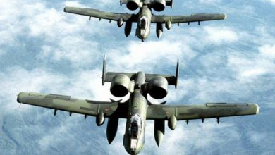 صورة بعد تعليق مشاركتها واشنطن تستأنف ضرباتها الجوية على الباب