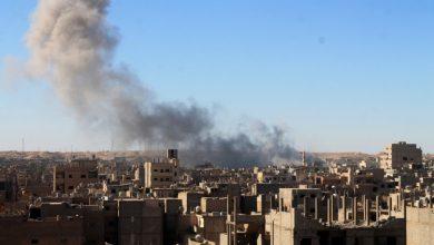 صورة قصف جوي روسي متواصل على دير الزور وداعش يتقدم مجددا