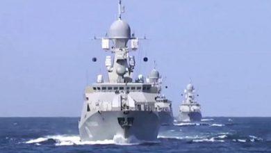 صورة تعزيزات روسية جديدة تصل إلى طرطوس